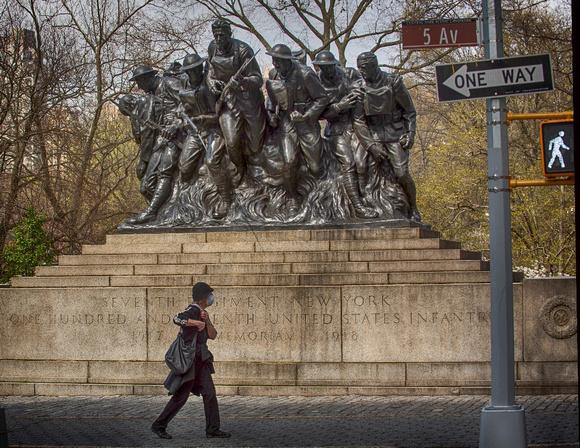 Lisa DuBois- War Memorial on 5th ave