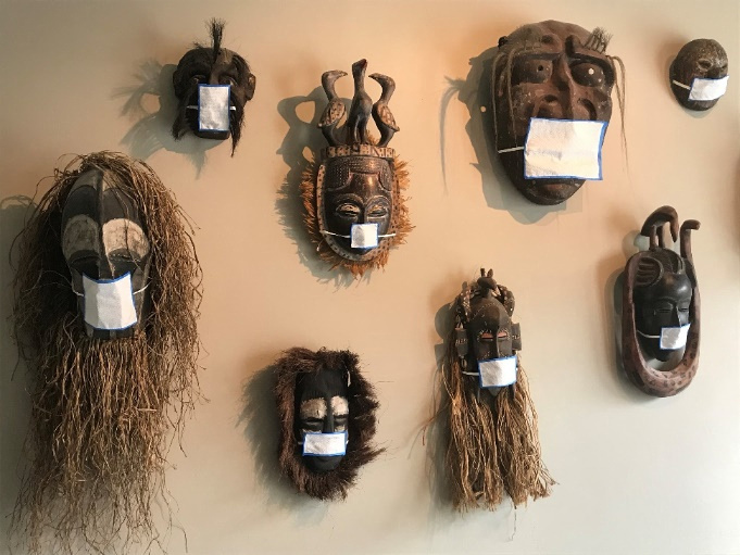 Steve Hathaway- African Mask Collection, California